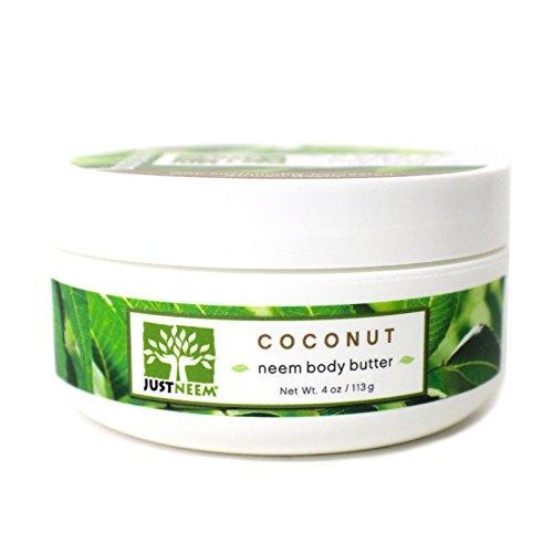 - Coconut Neem Body Butter - Coconut Oil, Shea & Mango Butter - Natural, Intense Hydration - 4 oz