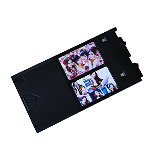 Syoon Inkjet PVC ID Card Tray Plastic card Tray PVC Card Printing Tray for Canon IP4600 4700 4760 4820 4850 4880 MP630 640 MG5250 8150 -