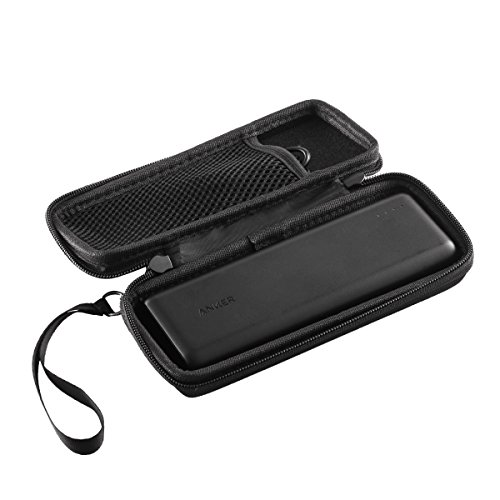 Hard CASE fits Anker PowerCore 20100mAh & PowerCore II 20000 Portable Charger PowerCore. with mesh Pocket. by Caseling