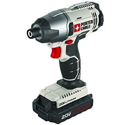 PORTER-CABLE PCC641LB 20V MAX Lithium Ion Hex Head Compact Impact Driver Kit