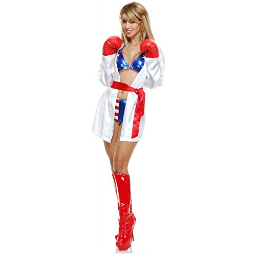 [Total Knockout Costume - X-Small - Dress Size 3-5] (Knock Out Costumes)