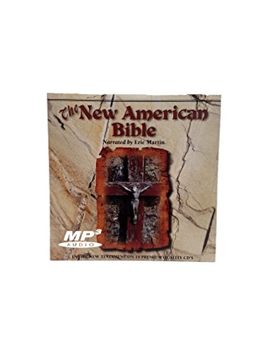 New American Bible Catholic Bible Edition - Audio Bible - New Testament Catholic Audio Bible on MP3 Disc - 18 hours - digitally recorded Word for Word from the sacred Texts