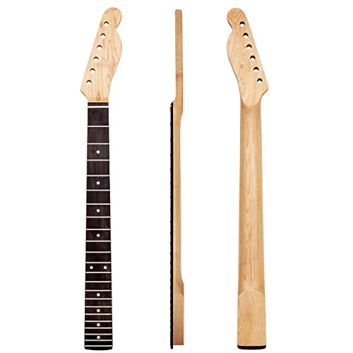 Matt style Finished Electric Guitar Neck 22 Frets Rosewood Fretboard Replacement wholesale 4pcs by Kmise (Image #1)