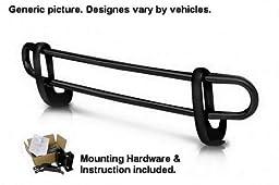 MaxMate Premium Custom Fit 96-04 Nissan Pathfinder Black Rear Bumper Guard Nerf Push Bar (Mounting Hardware included)