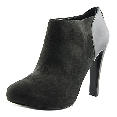 Toe Brienne Womens West Nine Booties Dark Shooties Suede Round Grey qS4vX