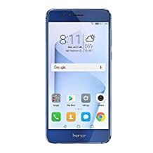 Huawei Honor 8 Unlocked Smartphone 32 GB Sapphire Blue - US Warranty (Certified Refurbished)