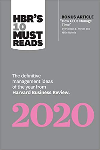 Best Books To Read 2020 HBR's 10 Must Reads 2020: The Definitive Management Ideas of the