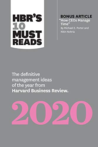 Best Reads 2020 Amazon.com: HBR's 10 Must Reads 2020: The Definitive Management