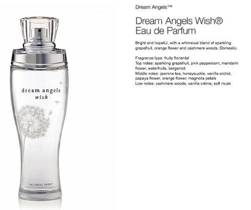 Victoria's Secret Dream Angels Wish Eau de Parfum 1oz.