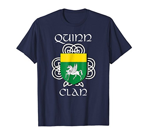 - Quinn Family Crest Coat of Arms T Shirt