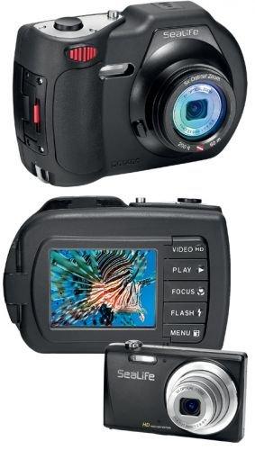 SeaLife DC1400 14MP HD Underwater Digital Camera Waterproof up to 200 ft. (60m)