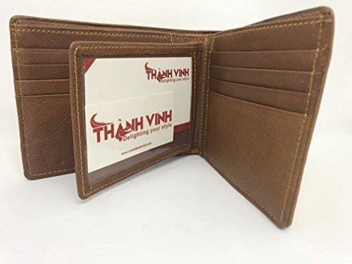 Leather Alligator Skin Man ThanhVinhCrocodile Genuine Bifold Genuine ThanhVinhCrocodile Crocodile Wallet Crocodile XXH60O