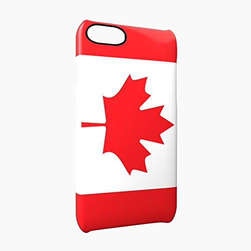 Flag of Canada Glossy Hard Snap-On Protective iPhone 7 Plus + Case Cover