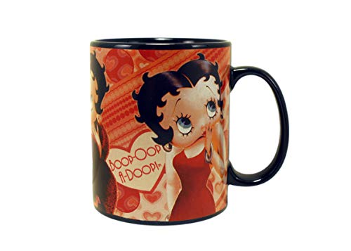 - Betty Boop Hearts 18 oz Mug