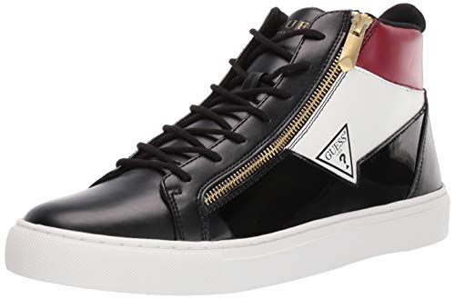 - GUESS Men's Bari Sneaker Black 9.5 M US