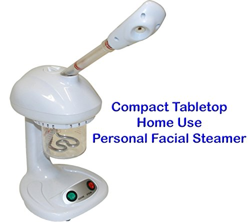 LCL Beauty Table Top Ozone Aromatherapy Facial Steamer Co...
