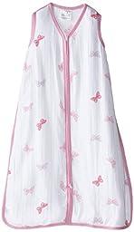 aden by aden + anais Wearable Blanket, Girls-n-Swirls - Butterfly, medium