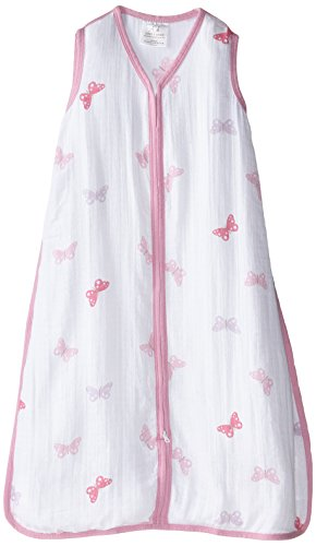 aden by aden + anais Wearable Blanket, Girls-n-Swirls - Butterfly, medium by aden + anais