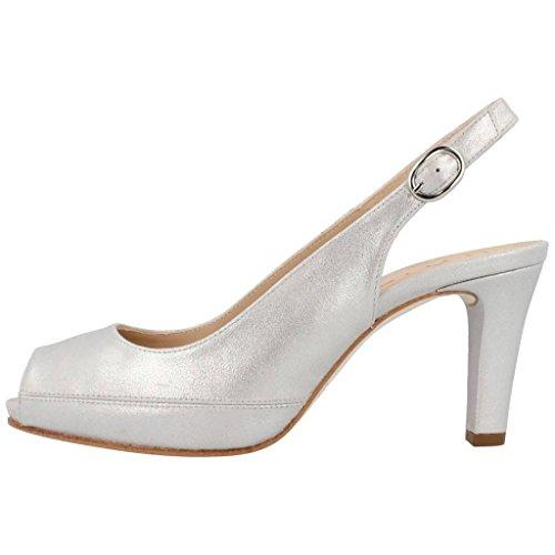 Scarpe tacco alto, color Argento , marca UNISA, modelo Scarpe Tacco Alto UNISA NICK Argento