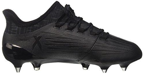 adidas X 16.1 Sg, Botas de Fútbol para Hombre Negro (Core Black/Core Black/Dark Grey)