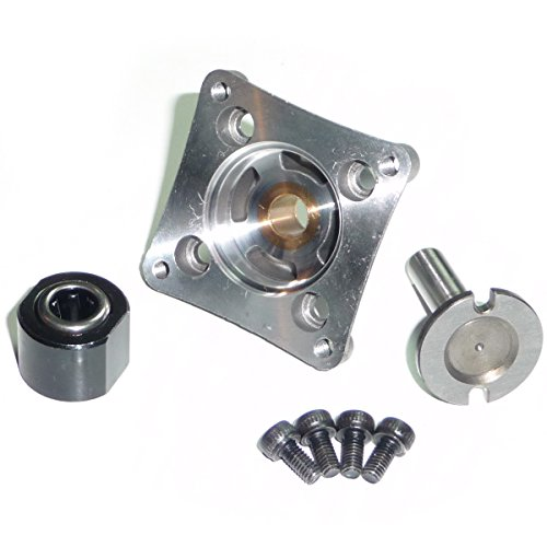 Traxxas TRX 3.3 ONE WAY BEARING, BACKPLATE W/ O-RING, STARTER SHAFT & ()