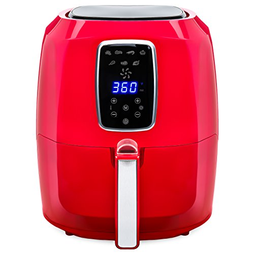 Best Choice Products 5.2L Extra Large Capacity Digital Air Fryer w/ LCD Screen, 7 Preset Settings, Non-Stick Coating