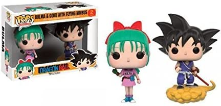 Dragon Ball Pop! Vinyl - Bulma and Goku with Flying Nimbus by ...