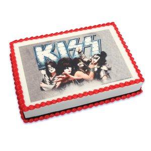 KISS Cake Icing Edible Image -