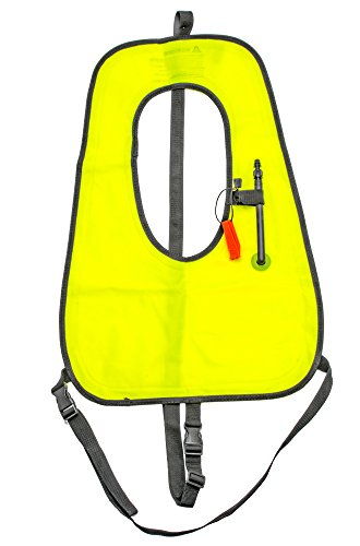 Innovative Scuba Snorkel Vest / Jacket for Floatation and Safety, SN0191 ()
