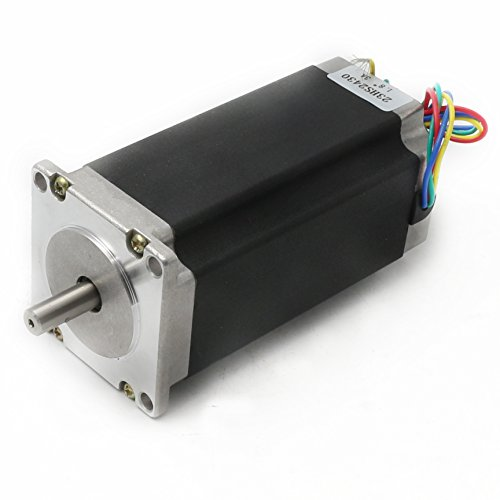 Review Nema23 CNC Stepper Motor 425oz-in 112mm 3A 2.8N.m 1.8° 4 lead wire for CNC Router Engraving Milling Lathe Machine
