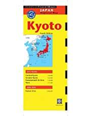 Kyoto Travel Map Fourth Edition