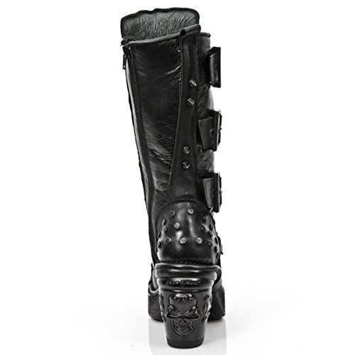 Nuovo Rock Schuhe Itali Negro - Nomada - Charol - M.8342-c8 38