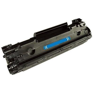 1PK Compatible CB435A 35A Toner For HP LaserJet P1002 P1003 P1004 P1005 P1006 P1009(Toner Ctg, Black, Y=1.5k)