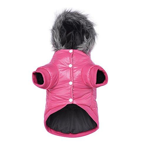 Picture of LESYPET Doggie Puppy Coat Vest Pet Ski Vest Waterpoof