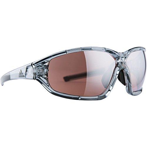 Adidas lunettes Evil Eye Evo AD10–6500Grey Transparent Shiny