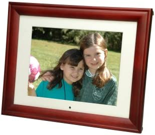 Smartparts SP104C 10.4-Inch Digital Picture Frame Cherry Wood