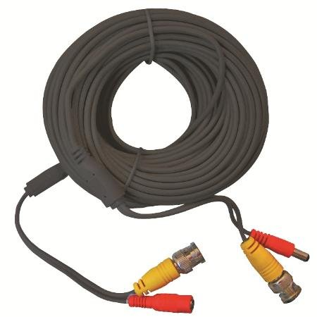 Audio / Video Cable Assembly, 100 ft, 30.48 m, Black (Assembly Vga Cable)