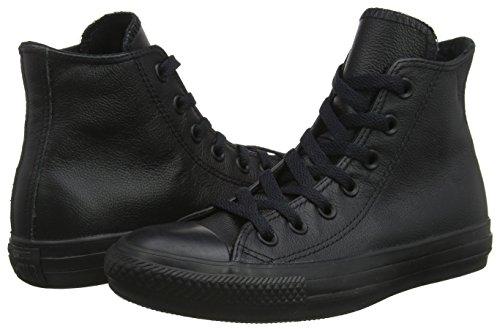 – Converse Unisex Adulto Mono Black Leather Scarpe Da All Fitness Star Hi fw8qxTfU