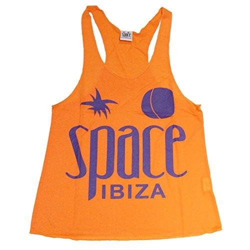 Space Ibiza: Nativo Camiseta de Tirantes mujer Naranja