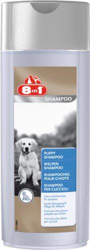 8in1 Welpen Shampoo (für die sanfte Reinigung und Pflege des Welpenfells), 250 ml Flasche