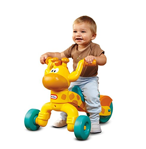 41fk35FiFfL - Little Tikes Go and Grow Lil' Rollin' Giraffe Ride-On