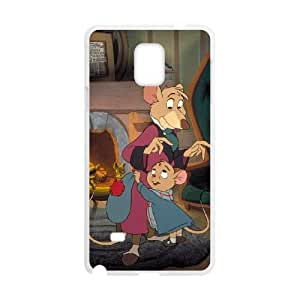 Samsung Galaxy Note 4 Cell funda blanco The Great ratón Detective Character Basil carcasa X6284504