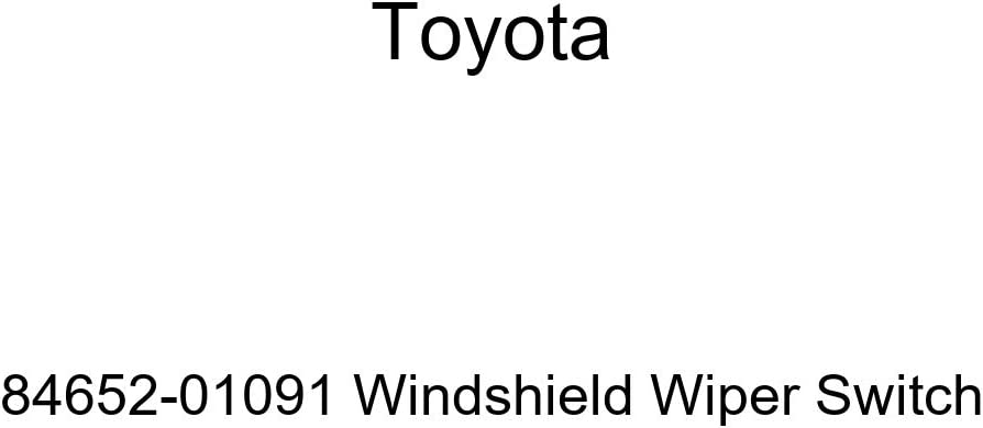 Toyota 84652-01091 Windshield Wiper Switch