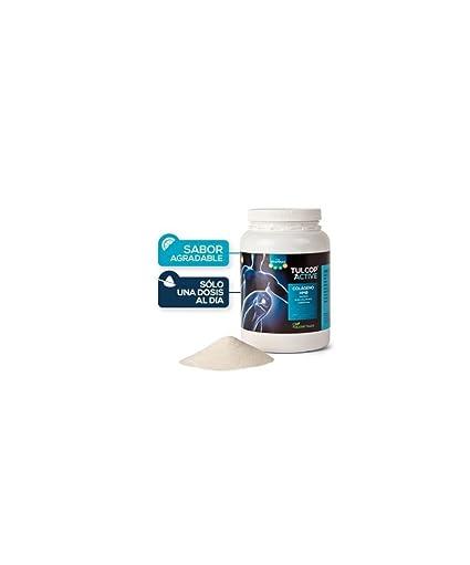 Colágeno con magnesio, HMB, acido hialurónico y condroitina TULCOP ACTIVE polvo