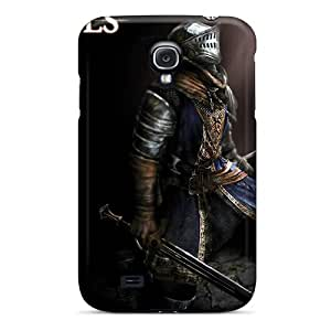 Excellent Galaxy S4 Case Tpu Cover Back Skin Protector Dark Souls Elite Knight Armor