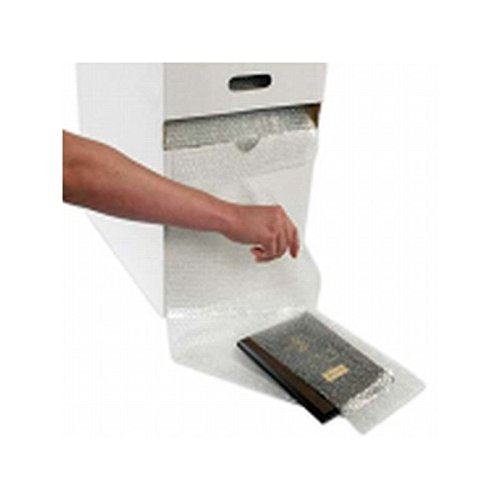 Box Packaging 3/16'', Cohesive Air Bubble Dispenser Pack, 12'' x 175' Roll Per Case by Box Packaging