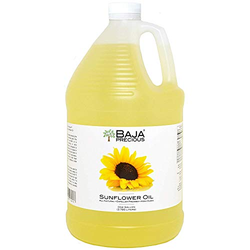 - Baja Precious - Organic Sunflower Oil, 1 Gallon