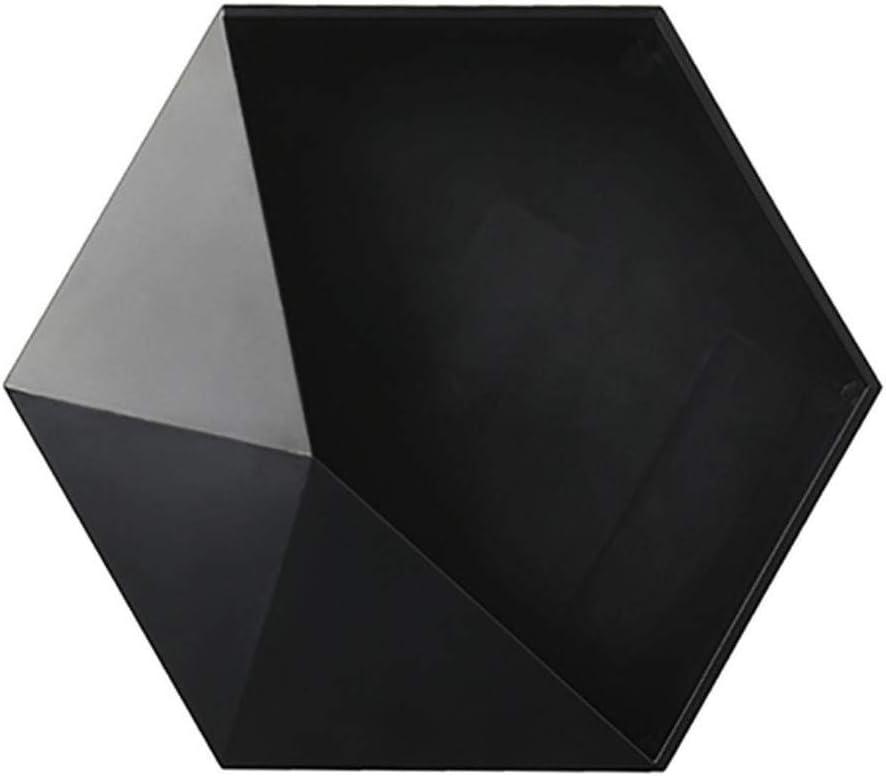 TANBURO Estanter/ía de Pared Estanter/ías Cubos Juego de 3 Piezas para Libros y Decoraci/ón ,Negro