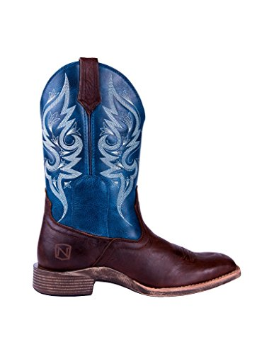 Noble Outfitters Ladies Autumn SQ Toe Teal Boots 0eTqHv
