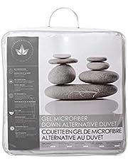 Canadian Down & Feather Co - All Season Gel Microfiber Down Alternative Duvet King Size - Machine Washable - 300 TC Shell 100% Cotton - Oeko TEX Certified
